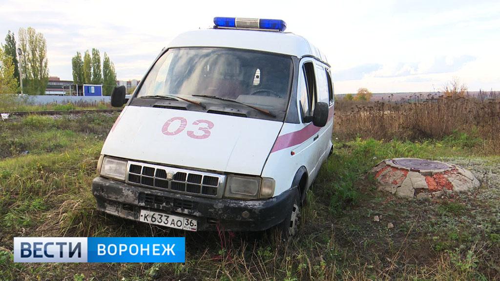 В Шилово местные жители обнаружили брошенную машину скорой помощи