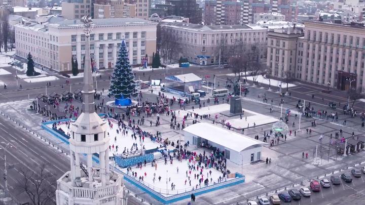 Стало жарко: Московский блогер решил вспомнить зимний Воронеж