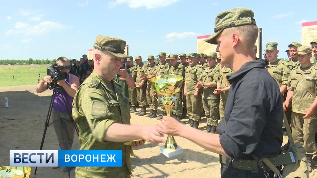 На полигоне Погоново военные ЗВО сражались за звание армейской элиты