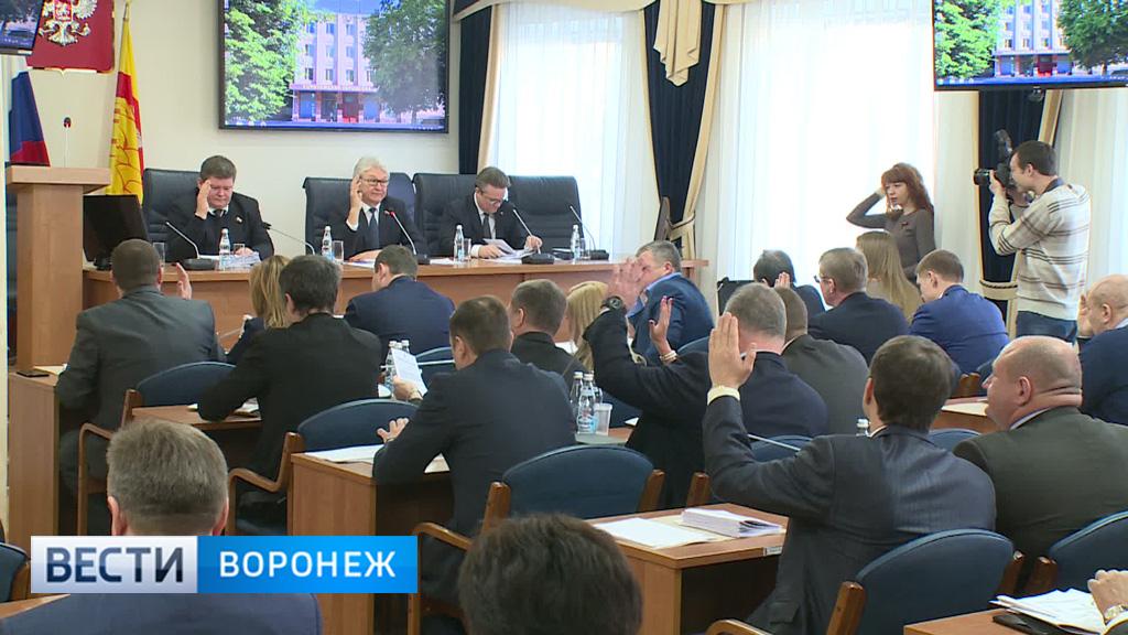 Гордума приняла положение о порядке избрания мэра Воронежа