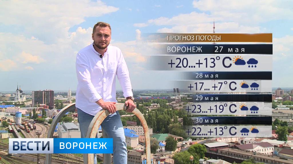 Прогноз погоды с Ильёй Савчуком на 27 – 28.05.17