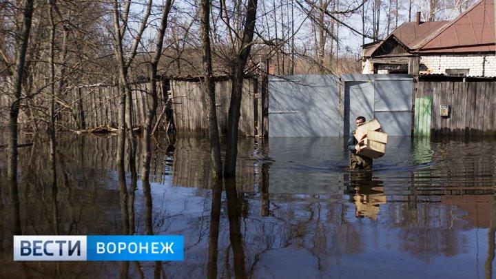 Власти назвали размер компенсаций пострадавшим от паводка жителям Воронежской области