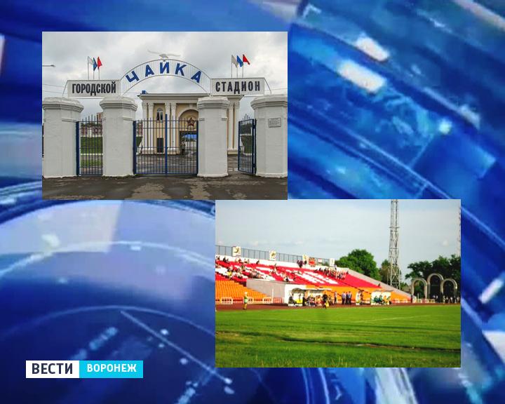 Два воронежских стадиона превратят в современные футбольные базы уже к ноябрю