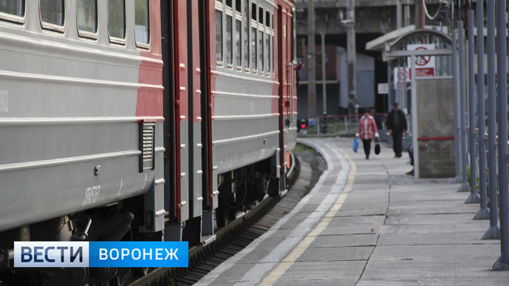 В Воронежской области на неделю отменят 4 электрички