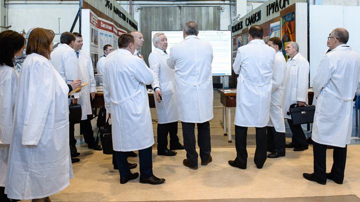 Рогозин поручил усилить взаимодействие двигателестроителей ОДК иРоскосмоса
