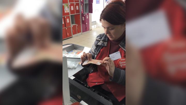 Полицейские «расплатились» в воронежском магазине фальшивой 5-тысячной купюрой
