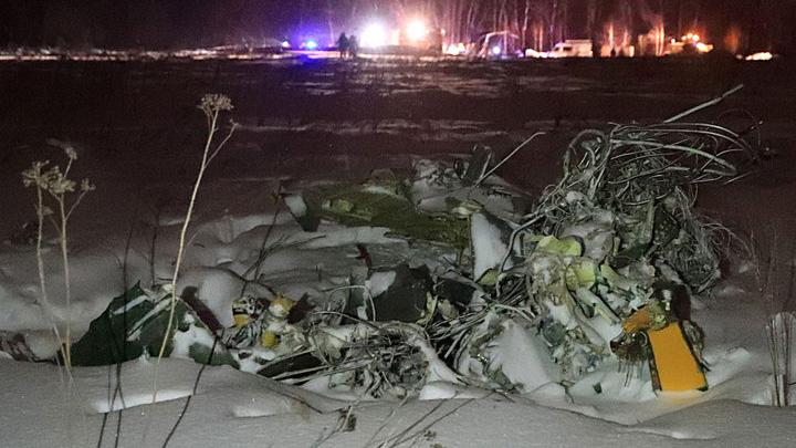 Воронежский авиазавод: разбившийся Ан-148 не выработал и четверти ресурса