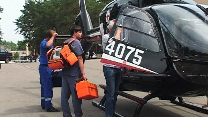 Пострадавшего в ДТП 7-летнего мальчика на вертолёте доставили в Воронеж