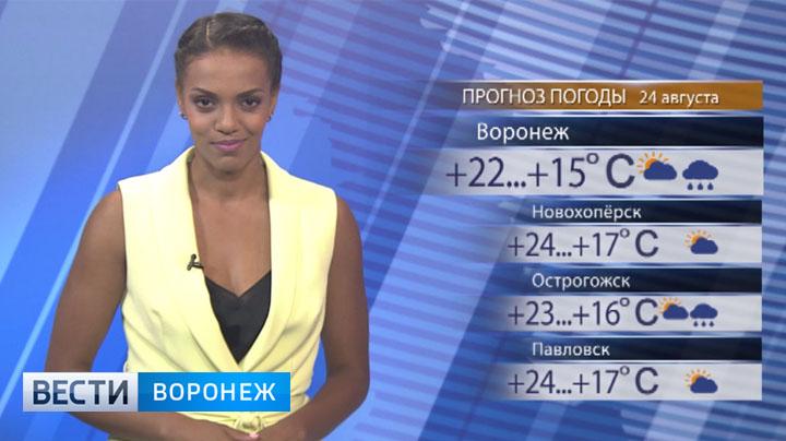 Прогноз погоды с Фантой Диоп на 24.08.2017