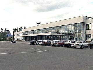 Аэропорт работает в экстренном режиме