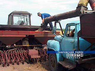 Аграрии Воронежской области планируют завершить сев озимых
