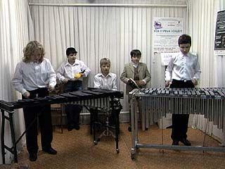 Академия искусств отметит 35-летие класса ударных инструментов