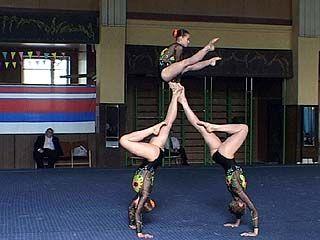 Акробаты со всей России собрались в Воронеже