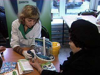 Акция по борьбе с диабетом прошла в Воронеже