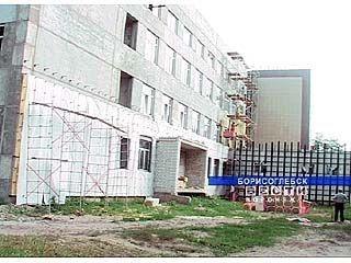 Акушерский пункт в Борисоглебске строится около 30 лет