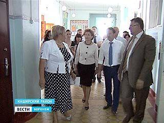 Алексей Гордеев и Галина Карелова побывали в Каширском районе