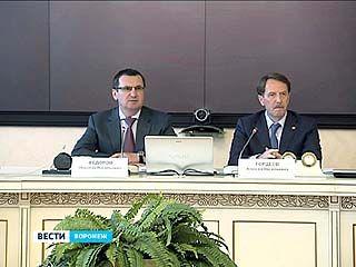 Алексей Гордеев и Николай Фёдоров приняли участие в заседании оргкомитета Всероссийских летних сельских спортивных игр