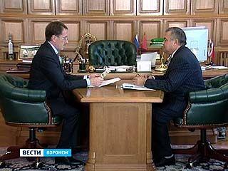Алексей Гордеев и Владимир Селянин обсудили проведение избирательных кампаний