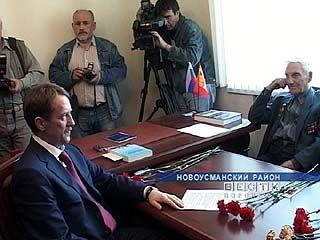 Алексей Гордеев открыл общественную приемную в Новой Усмани