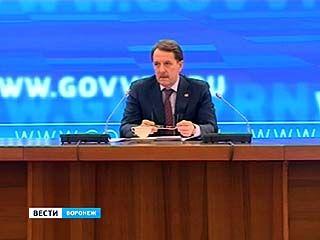 Алексей Гордеев подведёт итоги работы в должности главы Воронежского региона за 5 лет