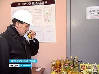 Алексей Гордеев посетил с рабочим визитом Верхнехавский район