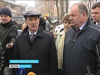 Алексей Гордеев с рабочей поездкой побывал в Новоусманском районе