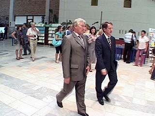 Алексей Гордеев впервые посетил традиционный августовский педсовет