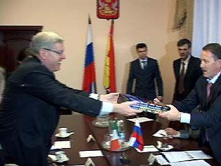 Алексей Гордеев встретился с послом Ирландии в России Филиппом Макдоном