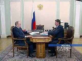 Алексей Гордеев встретился в Москве с премьером Владимиром Путиным