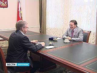 Алексей Кудрин заехал на чашку чая к губернатору Гордееву