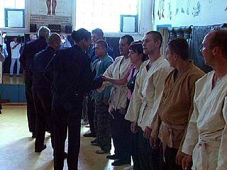 Американские полицейские побывали в учебном центре ГУВД