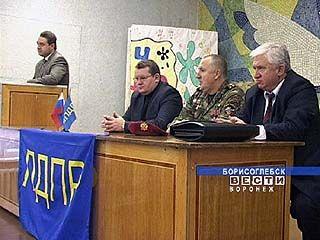 Андрей Головатюк посетил Борисоглебск