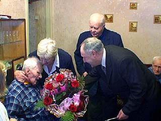 Андрею Васильевичу Савину исполнилось 100 лет