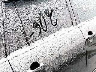 Аномальные морозы в Воронежской области сохранятся до конца недели