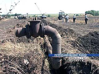 Арестованные за долги трубы проданы частникам по 5 руб. за метр