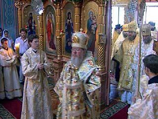 Архиереи Православной Церкви провели литургию в Воронеже