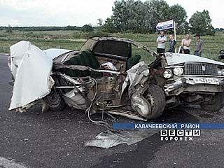 Аварий на дорогах области стало меньше, но гибнут в них чаще