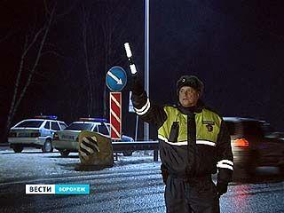 Автоинспекторы проверяют безопасность воронежских маршрутов