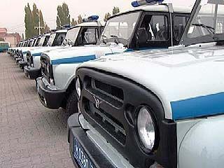 Автопарк ППС ГУВД пополнился новыми внедорожниками