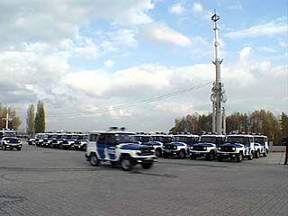 Автопарк сотрудников областной милиции пополнился на 32 автомобиля