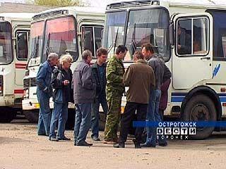 Автопредприятия Острогожска объявили о забастовке