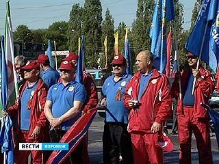 Автопробег в честь Победы в Великой Отечественной прошёл через Воронеж