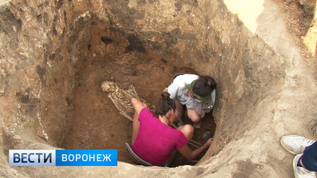 В Воронежской области обнаружили уникальное захоронение древних аланов
