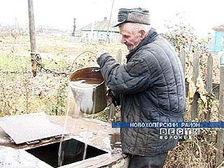 Без питьевой воды остались жители Журавки