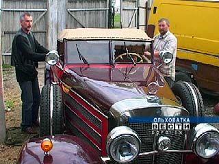Безработный инженер из Ольховатки воссоздал уникальный автомобиль