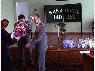 Библиотеке имени Никитина  - 140 лет