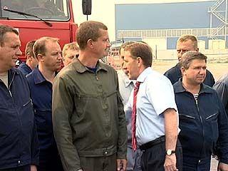 Благодарность за помощь в борьбе с пожарами получили украинские спасатели