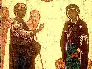 Благовещение Пресвятой Богородицы отмечают православные