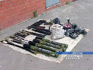 Боеприпасы, обнаруженные под Богучаром, предназначались для терракта или для продажи
