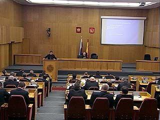 Большинством голосов бюджет 2011 года принят в первом чтении